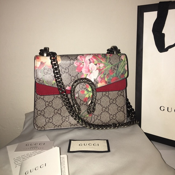 db24524ea Gucci Bags | Dionysus Gg Blooms Mini Bag | Poshmark